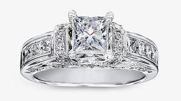 Attractive Wedding Rings Pagoda Wedding Rings