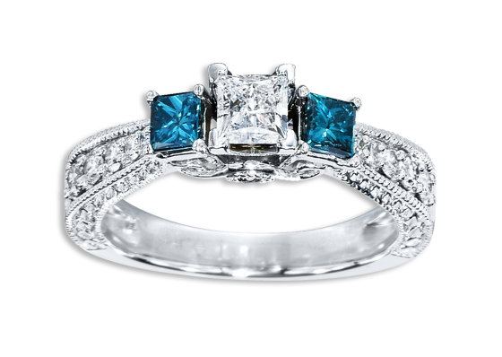 so if you want to go semi traditional but not all the way maybe a color diamond is for you some engagement rings - Traditional Wedding Rings